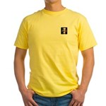 Stars and Stripes Obama Yellow T-Shirt