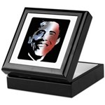 Stars and Stripes Obama Keepsake Box