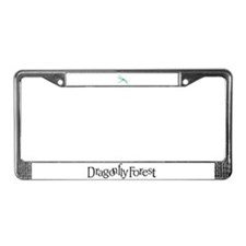 Dragonfly Forest License Plate Frame
