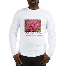 Alaska: flowers of summer Long Sleeve T-Shirt