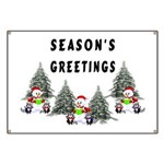 Christmas Greetings Banner
