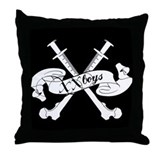 T-Bones XX Boys thrown Pillow