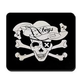 XX Boys SKull mousepad
