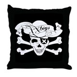 XX Boys Skull Pillow