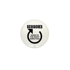 Right Direction Mini Button (100 pack)