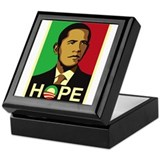Obama for Hope Keepsake Box