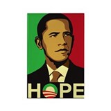Obama for Hope Rectangle Magnet (10 pack)