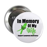 "In Memory of My Wife 2.25"" Button (10 pack)"
