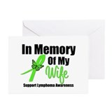 In Memory of My Wife Greeting Cards (Pk of 10)