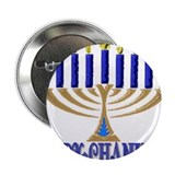 "Menorah 2.25"" Button"
