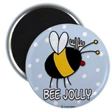 """bee jolly 2.25"""" Magnet (10 pack)"""