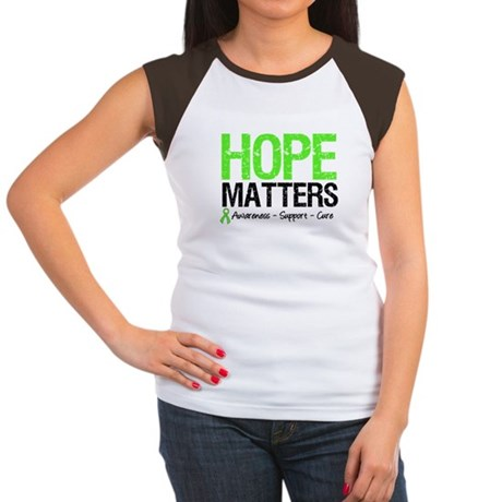 Hope Matters Grunge Women's Cap Sleeve T-Shirt