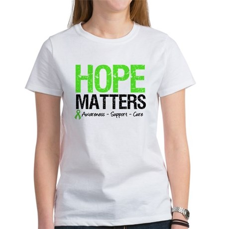 Hope Matters Grunge Women's T-Shirt