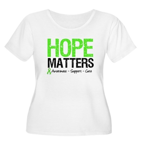 Hope Matters Grunge Women's Plus Size Scoop Neck T