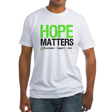 Hope Matters Grunge Fitted T-Shirt