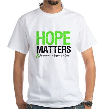 Hope Matters Grunge White T-Shirt
