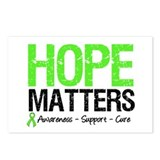 Hope Matters Grunge Postcards (Package of 8)