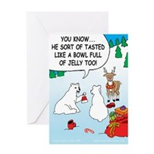 Jelly Bowl Greeting Card