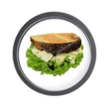 Egg Salad Sandwich Wall Clock