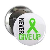 "Lymphoma Never Give Up 2.25"" Button"