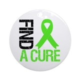 Lymphoma Find a Cure Ornament (Round)