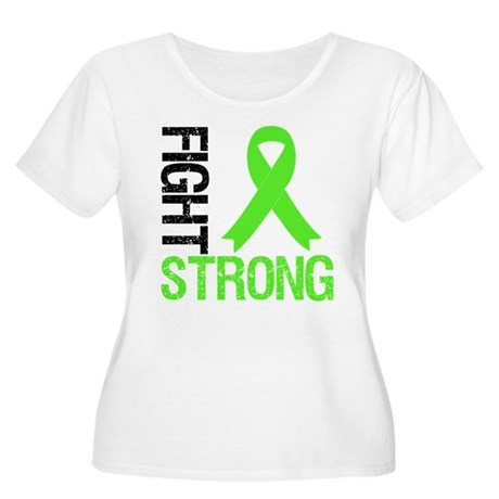 Lymphoma Fight Strong Women's Plus Size Scoop Neck