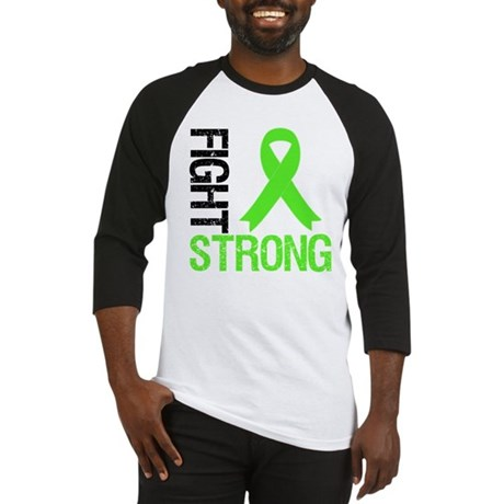 Lymphoma Fight Strong Baseball Jersey