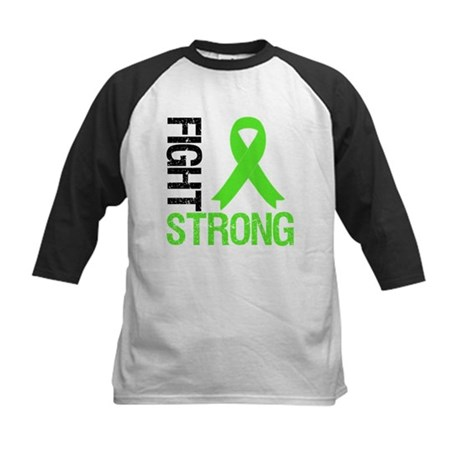 Lymphoma Fight Strong Kids Baseball Jersey