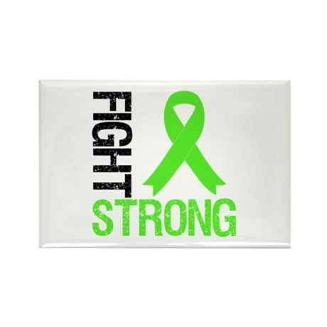 Lymphoma Fight Strong Rectangle Magnet
