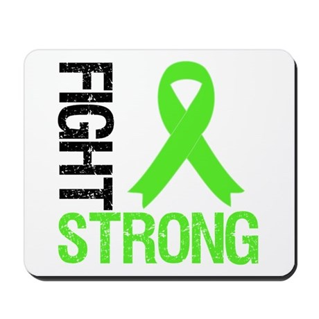 Lymphoma Fight Strong Mousepad