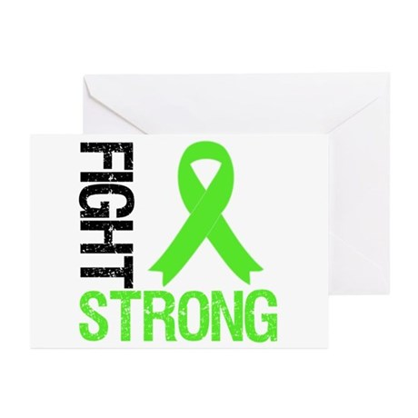 Lymphoma Fight Strong Greeting Cards (Pk of 10)