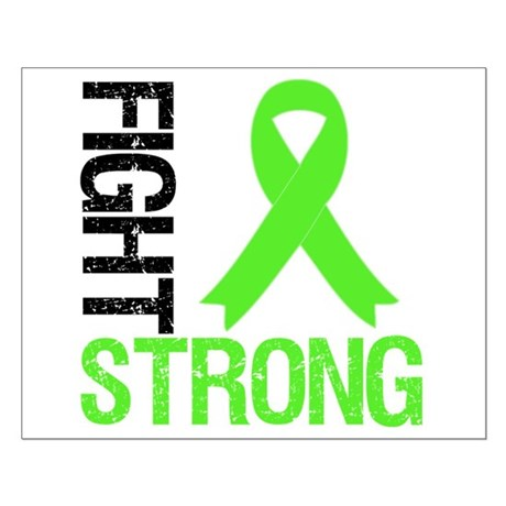 Lymphoma Fight Strong Small Poster