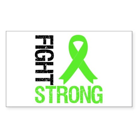 Lymphoma Fight Strong Rectangle Sticker 10 pk)