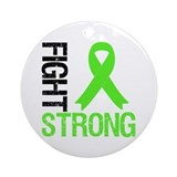 Lymphoma Fight Strong Ornament (Round)