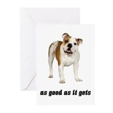 Good Bulldog Greeting Cards (Pk of 20)