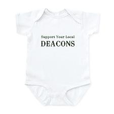 Support Your Local Deacons Infant Bodysuit