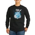 Rock N' Roll Death Crest Long Sleeve Dark T-Shirt
