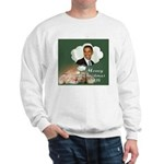 Barack Obama Cat Christmas Sweatshirt
