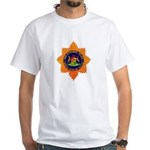 South Africa Police White T-Shirt