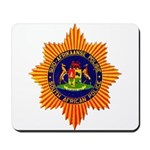 South Africa Police Mousepad
