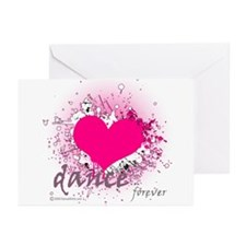 Love Dance Forever Greeting Cards (Pk of 10)