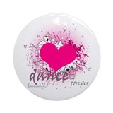 Love Dance Forever Ornament (Round)