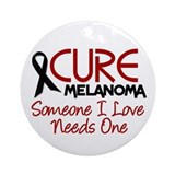 CURE Melanoma 2 Ornament (Round)