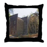 Bale Gristmill Throw Pillow