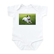 Formal Bull Terrier Color Infant Bodysuit