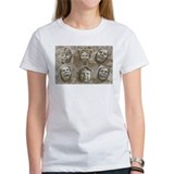 Carved Faces Tee