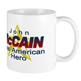 John McCain- American Hero Small Mugs