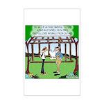 Environmentally Sound House Mini Poster Print