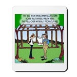 Environmentally Sound House Mousepad