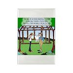 Environmentally Sound House Rectangle Magnet (10 p